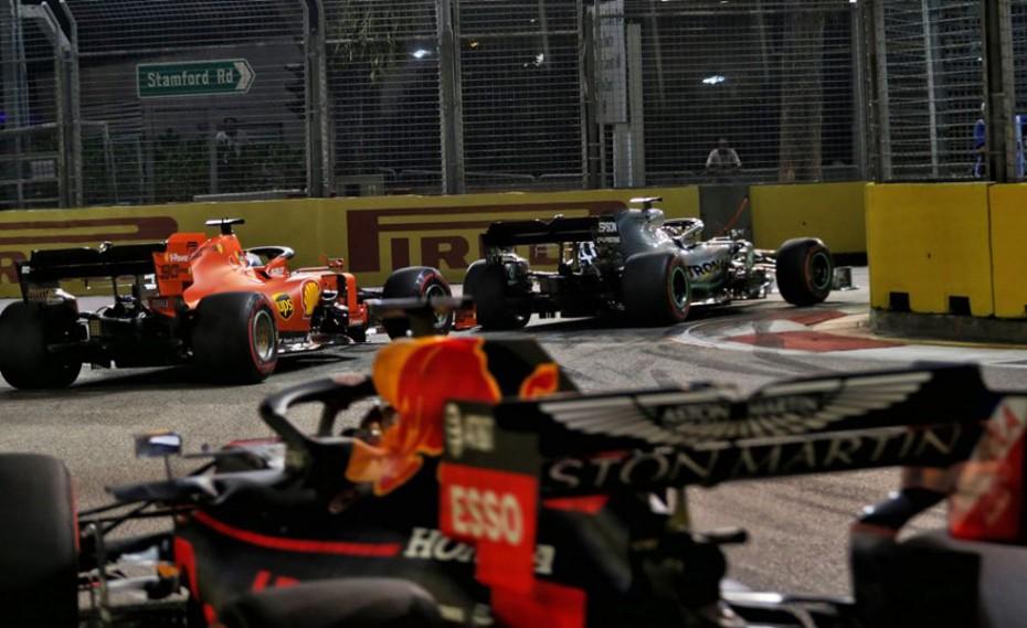 Πρώτο 1-2 φέτος για την Ferrari