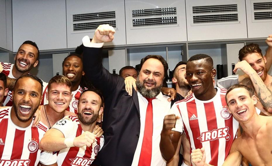 Βαγγέλης Μαρινάκης: «Πρώτος στόχος παραμένει το πρωτάθλημα»!