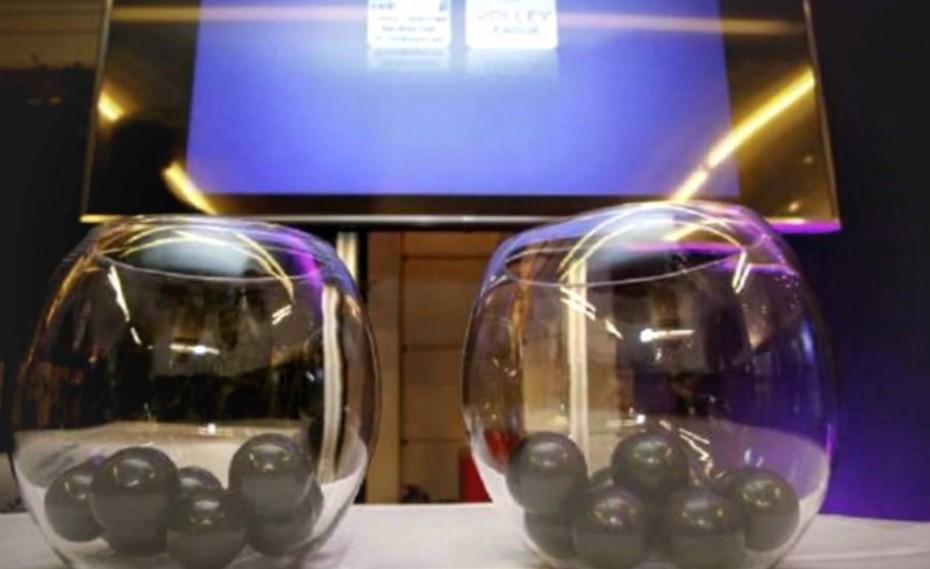 Η κλήρωση της Volley League σε live streaming!