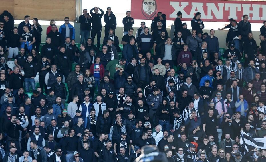 Μισή ομάδα, γεμάτο ΠΑΟΚτζήδες γήπεδο!