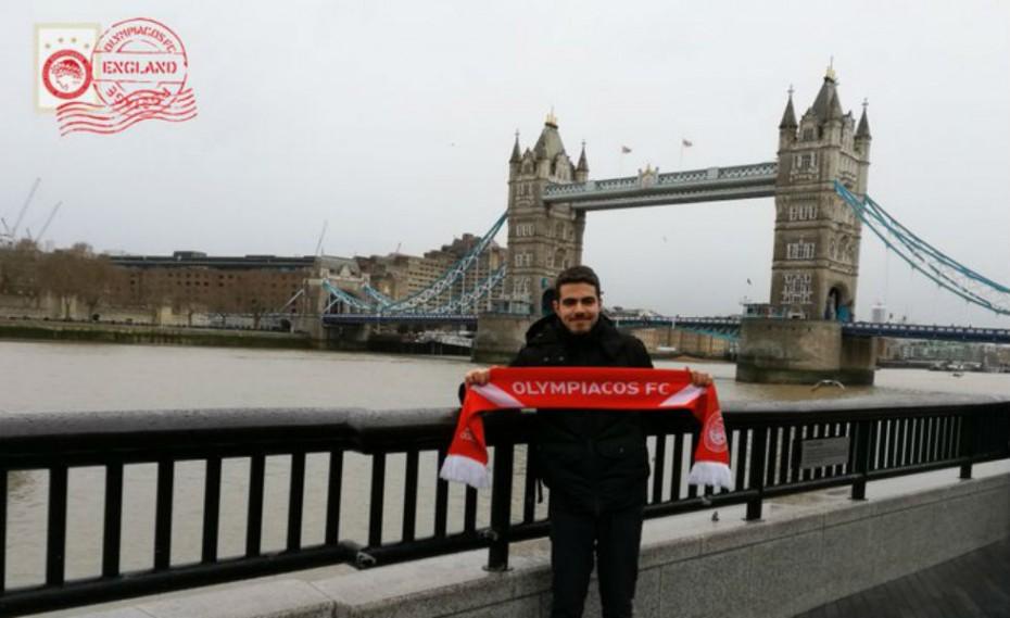 «Ερυθρόλευκο» και το Λονδίνο! (pic)