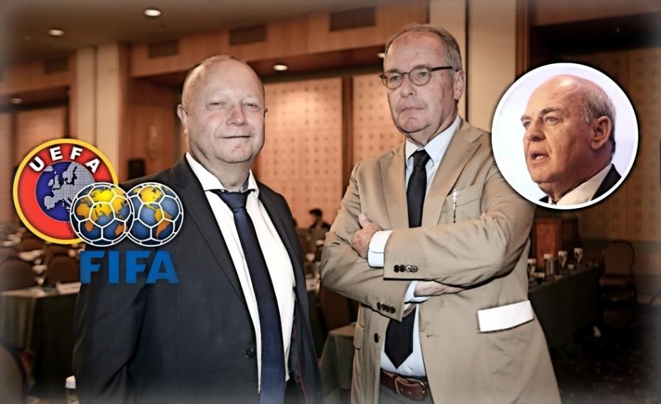 FIFA και UEFA έκαναν μια τρύπα στο νερό