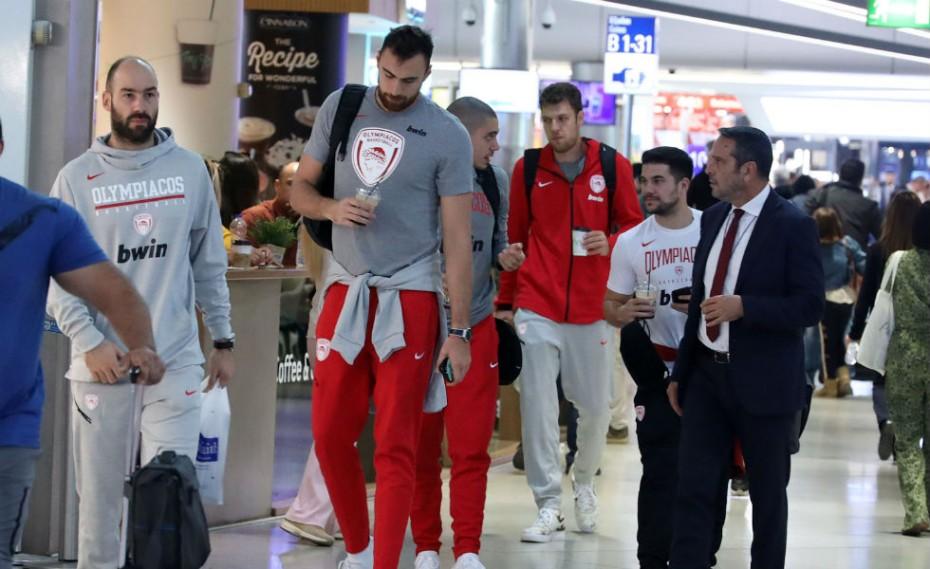 Ο λόγος που ο Ολυμπιακός ταξιδεύει νωρίτερα για Μαδρίτη