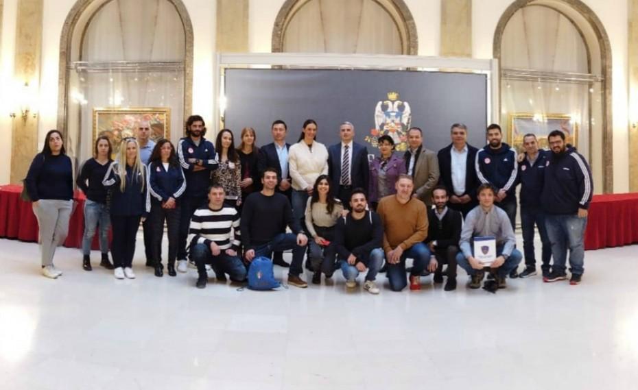 Στο Βελιγράδι αντιπροσωπεία του Ερασιτέχνη Ολυμπιακού!