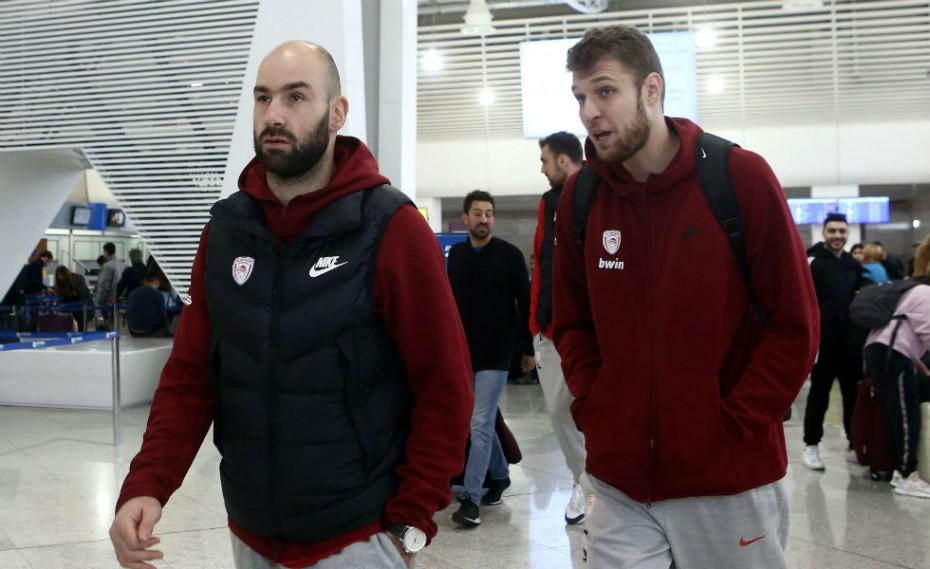 Μέσω Μαδρίτης ο Ολυμπιακός, για το ματς με Βαλένθια!