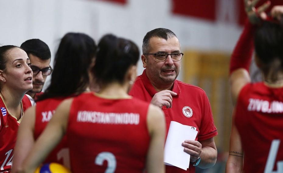 Κοβάτσεβιτς: «Χαρούμενος για τις αθλήτριες μου»!