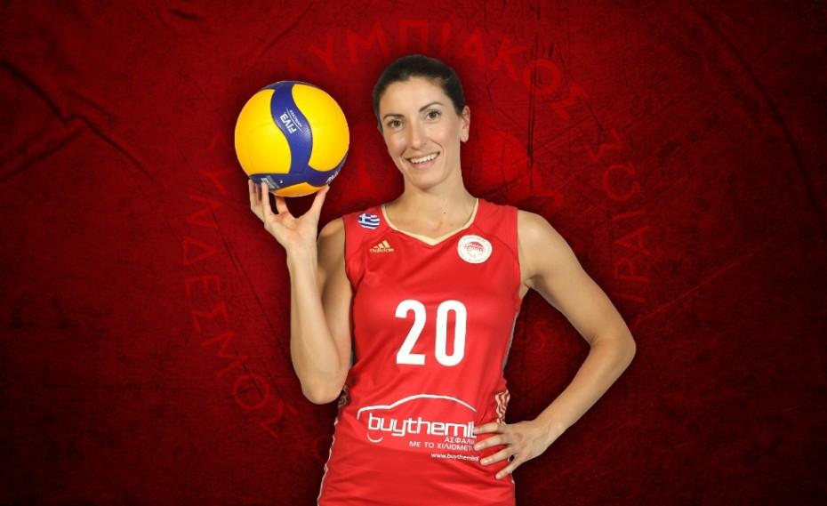 Τοτσίδου: «Οργανωμένος σύλλογος ο Ολυμπιακός»