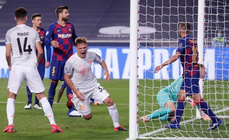 Ιστορική βραδιά στο Champions League: Μπαρτσελόνα- Μπάγερν Μονάχου 2-8!