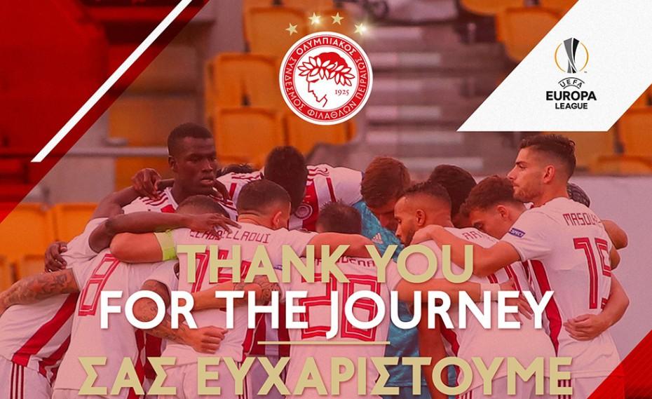 «Ευχαριστούμε για τις θρυλικές στιγμές που ζήσαμε» (photo)