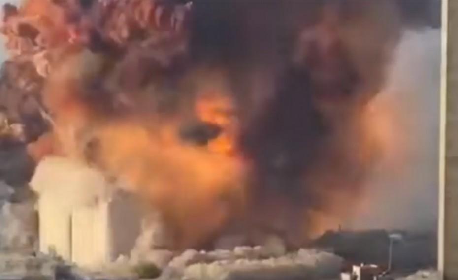 Σοκάρει το βίντεο! Το μήνυμα Χασάν για την τραγωδία στη Βηρυτό (video)
