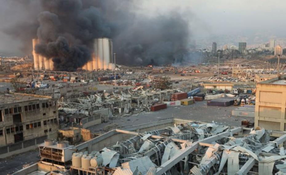 Χάος στη Βηρυτό: Συγκλονιστικά βίντεο από τις πολύνεκρες εκρήξεις!