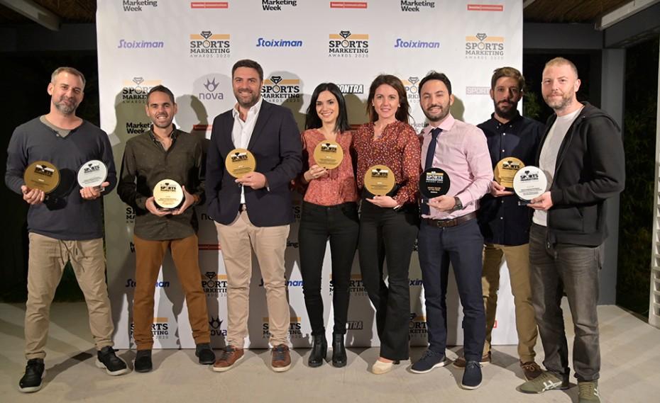 Πρωταθλήτρια η Kaizen Gaming στα Sports Marketing Awards 2020 με εννιά βραβεία