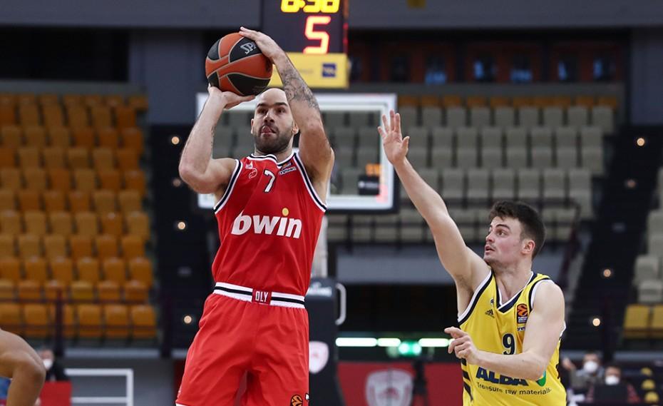 Ολυμπιακός-Μπασκόνια 76-90 (Τελικό)
