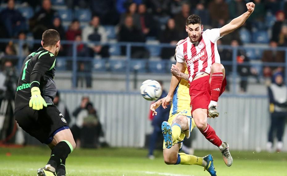Αστέρας Τρίπολης-Ολυμπιακός 0-4 (Τελικό)