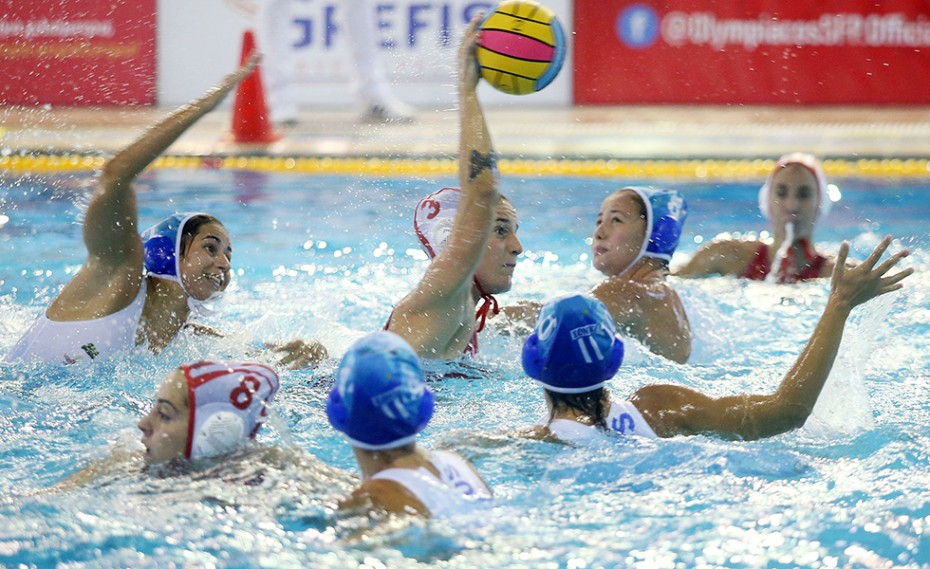 Έτοιμες οι κοριτσάρες του Ολυμπιακού