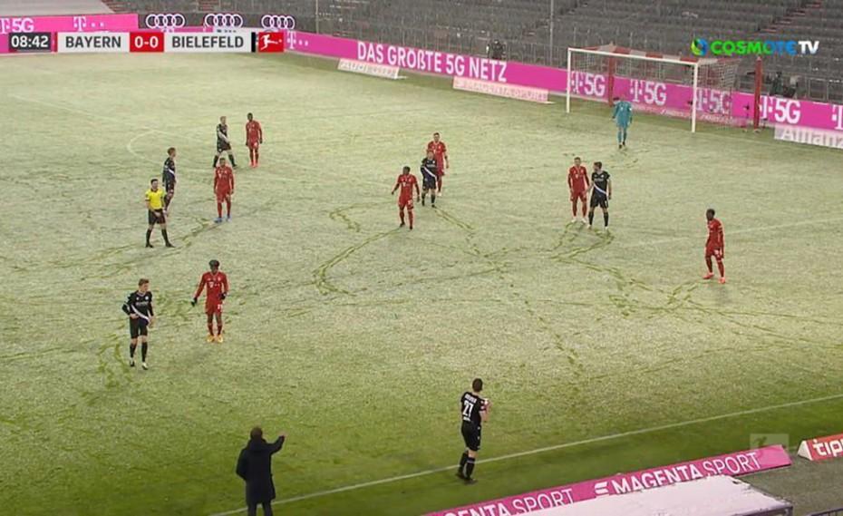 Ασύλληπτο 3-3 η Μπάγερν στο χιονισμένο Μόναχο (video)