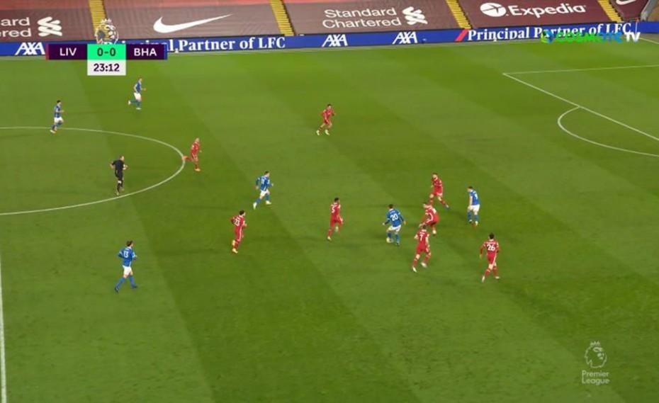 «Σφαλιάρα» της Μπράιτον μέσα στο «Anfield»! (video)