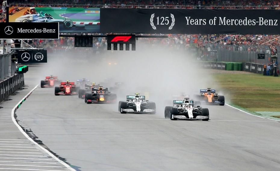 Formula 1: Εκκίνηση στις 18:00 με Φερστάπεν και Χάμιλτον! (video)