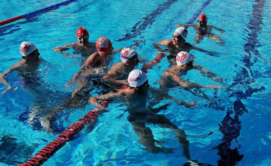 Επιστροφή στις προπονήσεις για την αγωνιστική ομάδα Κολύμβησης (photos)