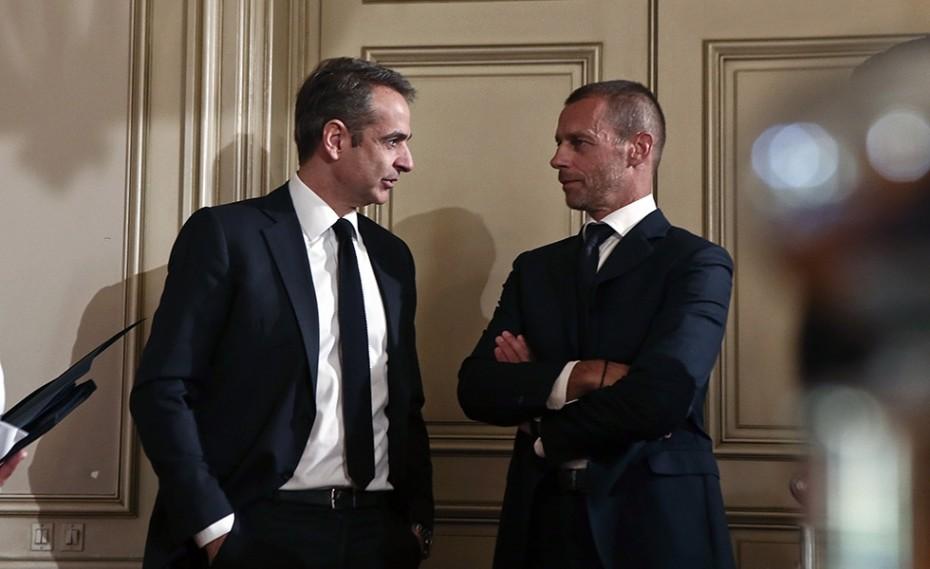Λάθος χαρακτηρίζει τη European Super League ο Μητσοτάκης (photo)