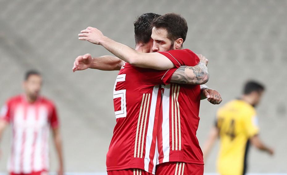 ΠΑΣ Γιάννινα-Ολυμπιακός 1-1 (Τελικό)