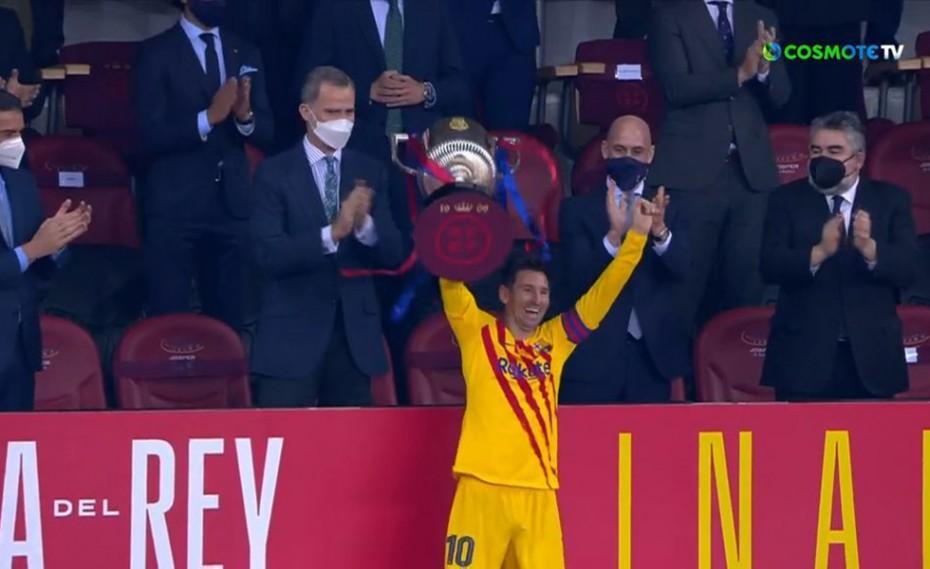 Πάρτι της Μπαρτσελόνα στον τελικό, δικό της το Copa del Rey! (videos)