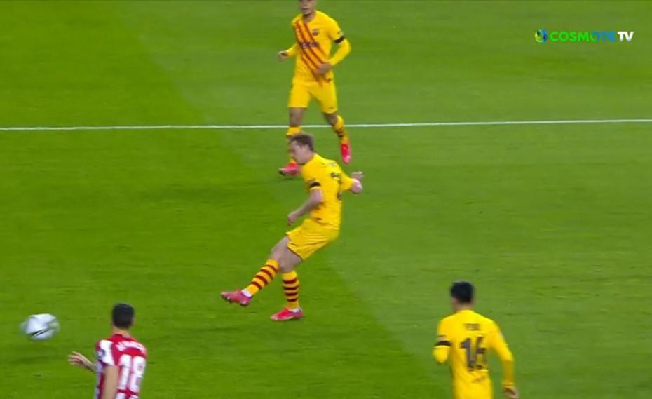 Copa del Rey | Τελικός: Δοκάρι με Ντε Γιονγκ! (video)
