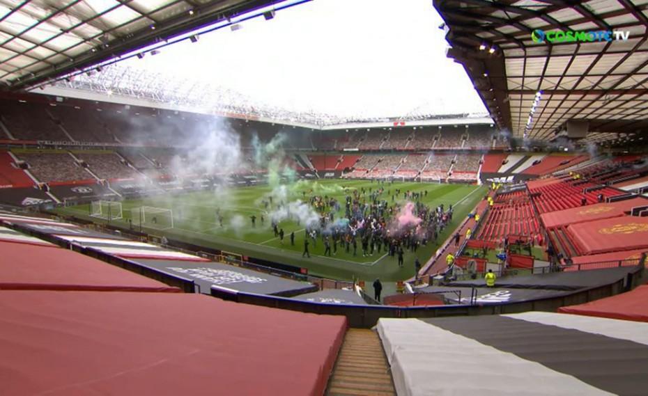 Απίθανο! Εισβολή των οπαδών της Γιουνάιτεντ στο «Old Trafford»! (video)