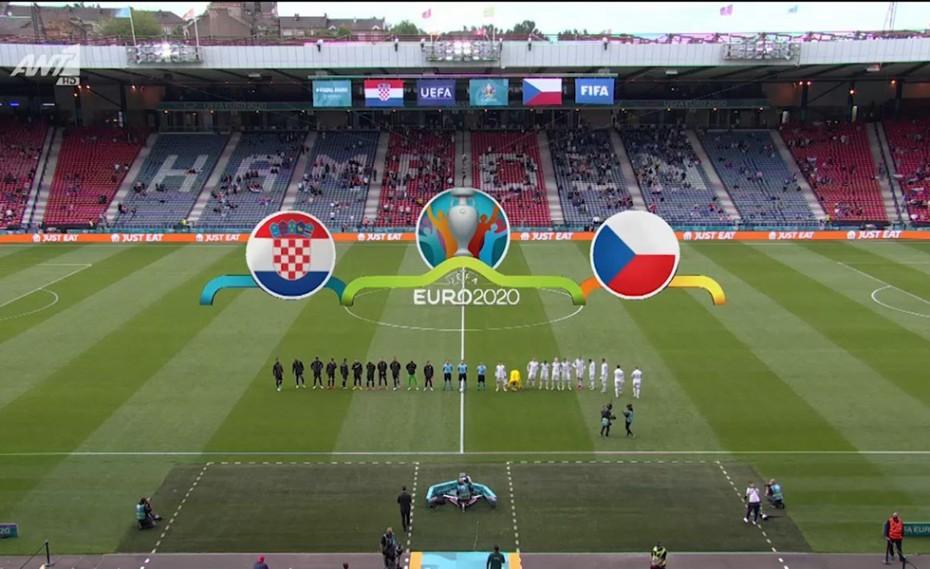 Euro 2020 | Κροατία-Τσεχία: Έμειναν στο 1-1 (video)