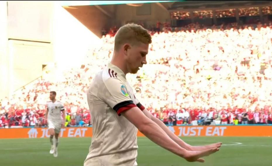 Δανία-Βέλγιο: Πωωωω μία γκολάρα και 1-2! (video)