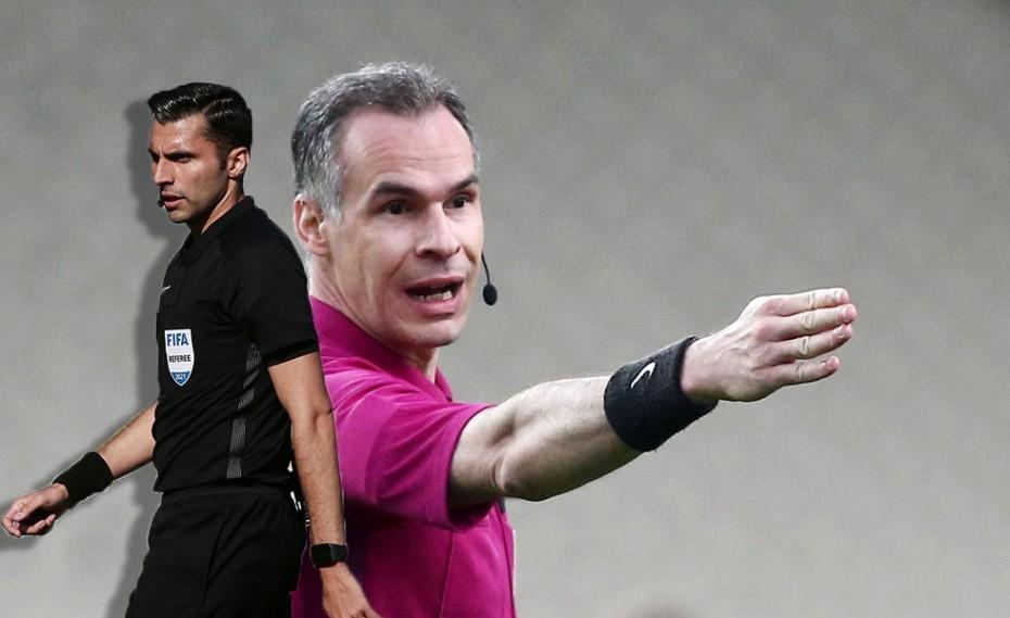 «Υποβιβασμένοι» και από την UEFA οι διεθνείς ρέφερι