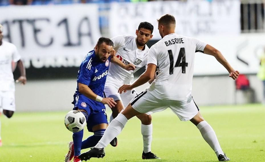 Νέφτσι - Ολυμπιακός 0-1 (Τελικό)