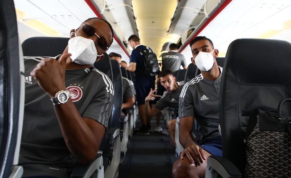 Ολυμπιακός: Με Ελ Αραμπί για την πρόκριση (photos)