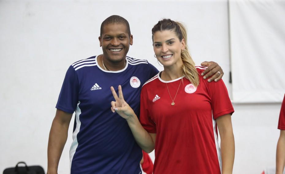 «Χαρούμενη στον Ολυμπιακό. Θα έχουμε εξαιρετική σεζόν»