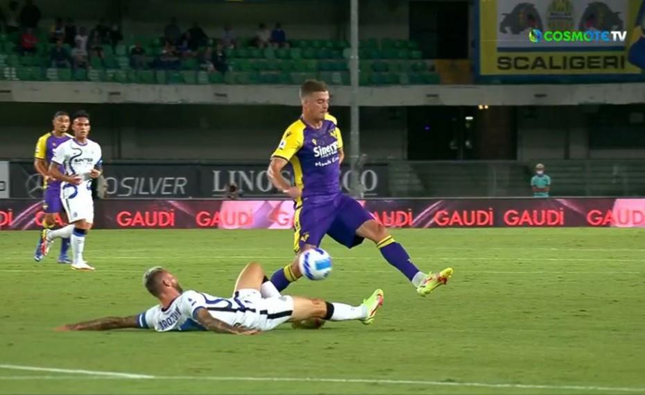 Ολέθριο λάθος ο Χαντάνοβιτς, 1-0 η Βερόνα (video)