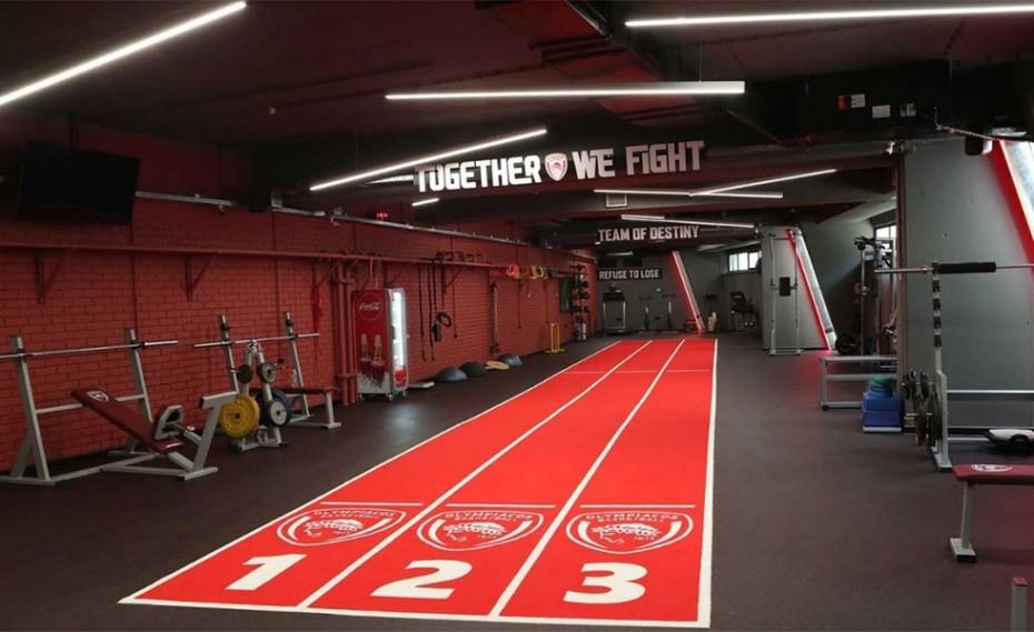 Το νέο γυμναστήριο του Θρύλου (video+photos)