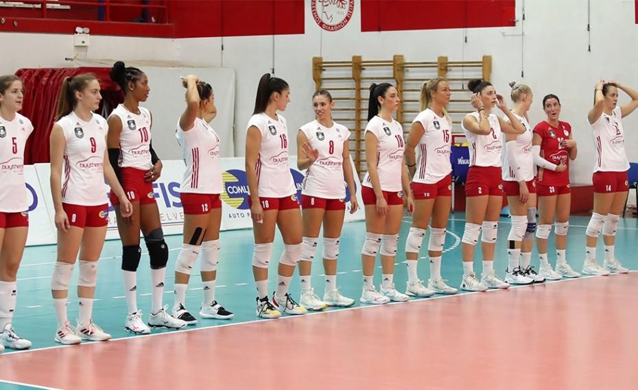 Μινσκ - Ολυμπιακός 0-3 σετ (Τελικό)